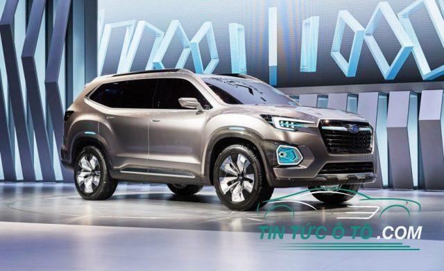Mẫu SUV 3 hàng ghế đến từ Nhật mang tên Subaru Ascent Concept