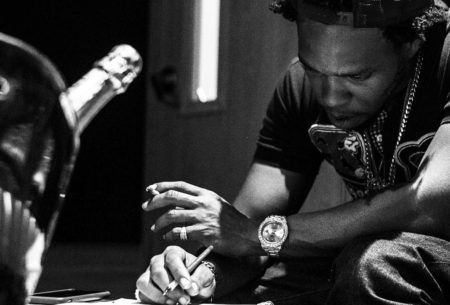 """Here's a new joint from Curren$y titled """"Not A Crumb"""". Produced by Sonny Digital."""