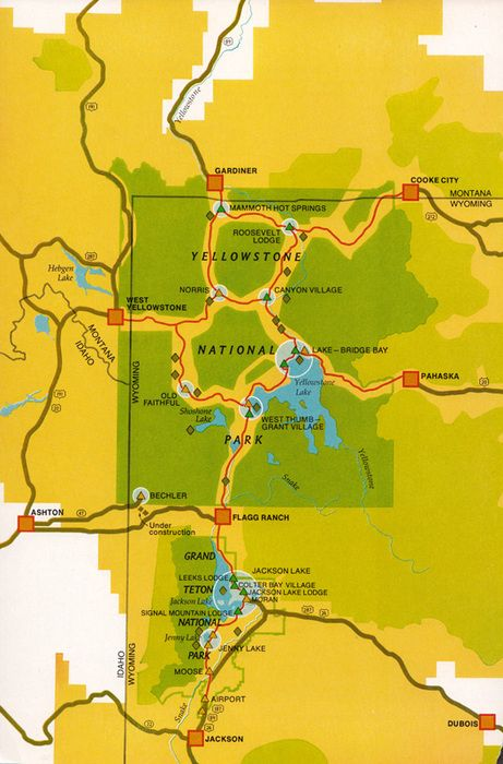 3 Glorious Days. Jackson Hole to Grand Teton National Park- Yellowstone National Park, and staying in Mammoth Springs :0)