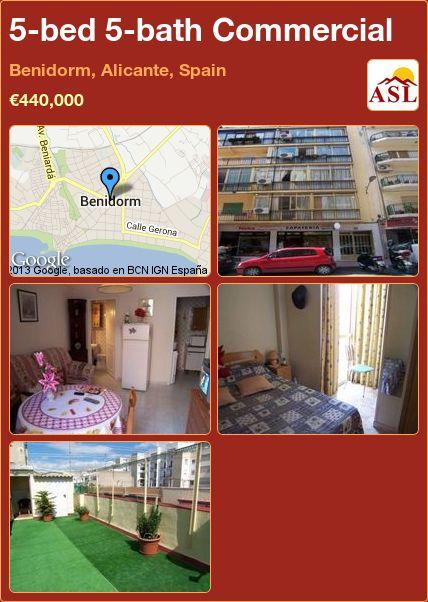 5-bed 5-bath Commercial in Benidorm, Alicante, Spain ►€440,000 #PropertyForSaleInSpain