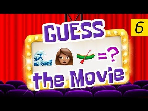 Can You Guess All The Movies? | Emoji Challenge 6 - YouTube