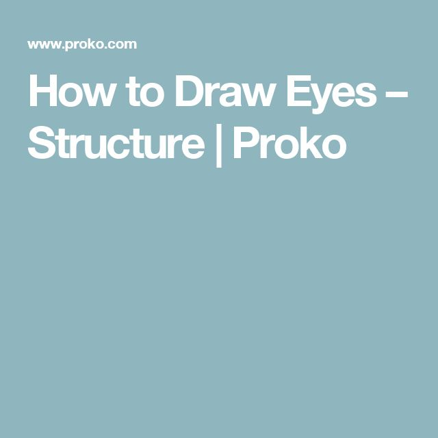 How to Draw Eyes – Structure | Proko