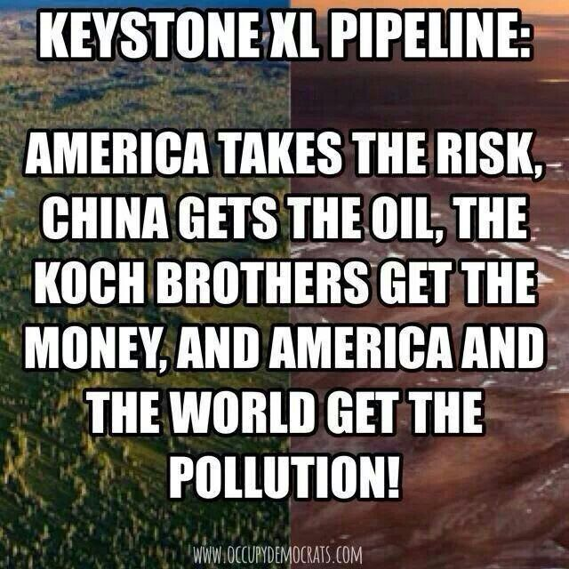 PIPELINES KILL!!! You want to preserve nature and human life?! Then stand up to this shit!! Or elect a man that wants to add to the danger to nature! You think he cares?! Bullshit! He wants the PROFITS!