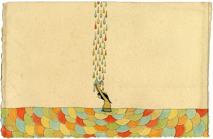 Mel Kadel 'Rain Stain'