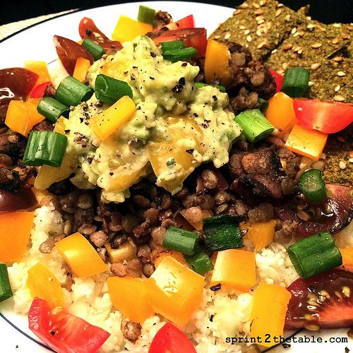 (Mostly) Raw Vegan Taco Salad