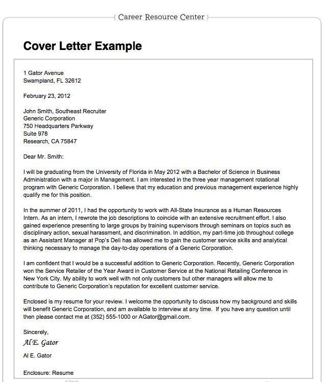 Resume Cover Letter For Job Application We Provide As