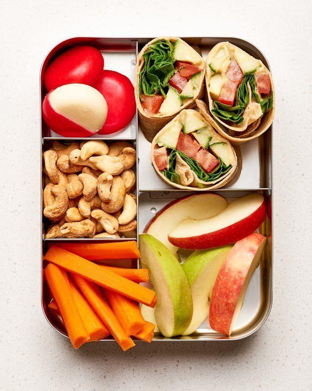 10 einfache Lunchbox-Ideen für Vegetarier #einfa…