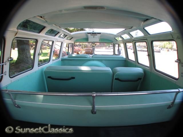 vw bus interior | 1965 VW 21-Window Bus Close-Up Gallery/1965-vw-21-window-samba-bus-039