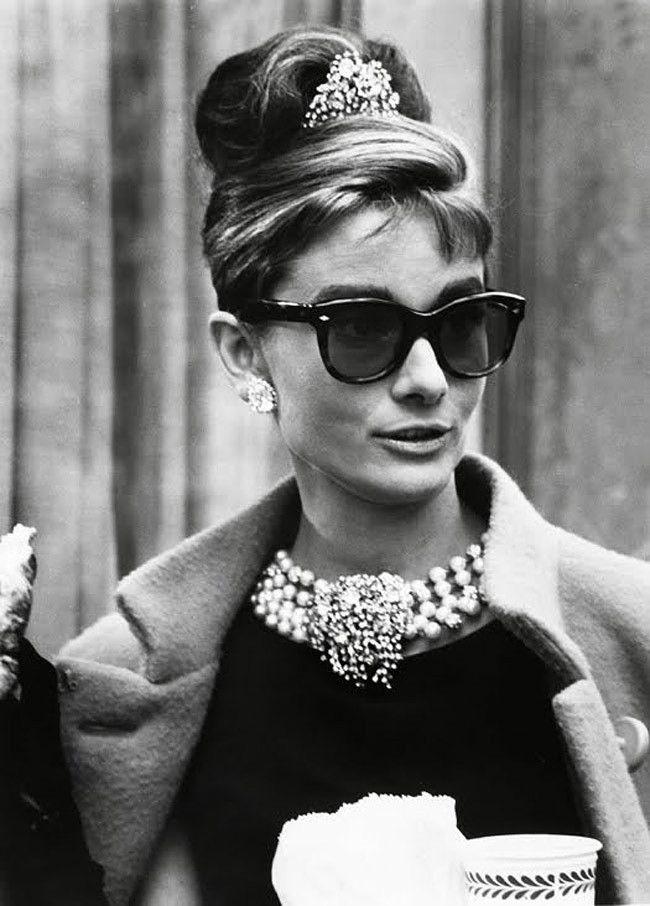 Audrey Hepburn, Breakfast at Tiffanys. I think I've chosen my Halloween costume!