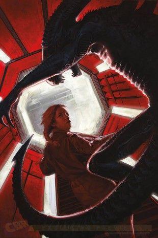 """Interviews et Nouvelles Images des Prochains Comics """"Aliens"""" et """"Predator"""""""