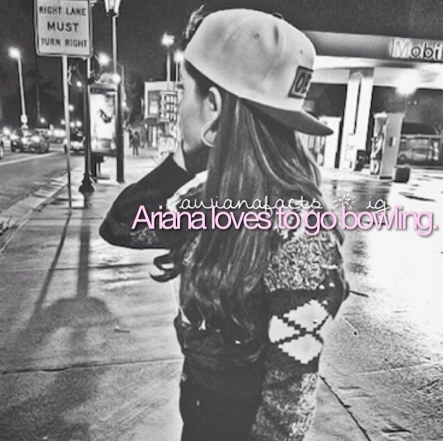 Ariana Grande fact by @awianafacts