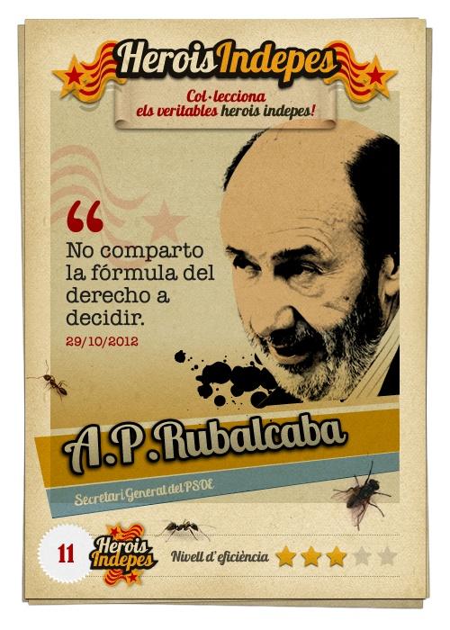 """#HeroisIndepes 11. Alfredo Pérez Rubalcaba: """"No comparto la fórmula del derecho a decidir."""""""