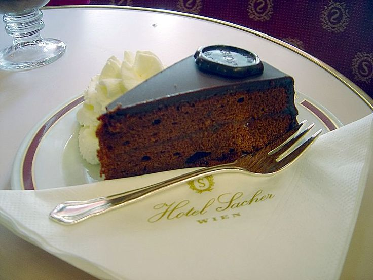 Sachertorte, the real deal!