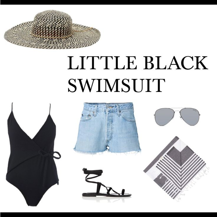 Whether you are planning a summer holiday locally or a getaway to a warmer location overseas, this is what you want to be wearing on your summer getaway.  #blackswimsuit #blackonepiece #swimsuit #vacationstyle #summerstyle #blackswimsuitoutfit #luxestyle #holidaystyle