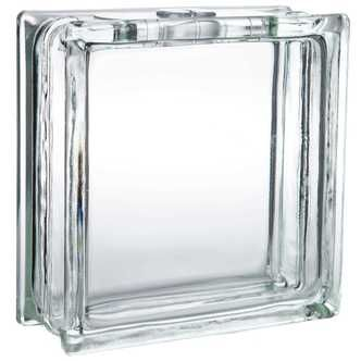 """8"""" x 8""""  Deco Bloc Glass Block with Hole"""