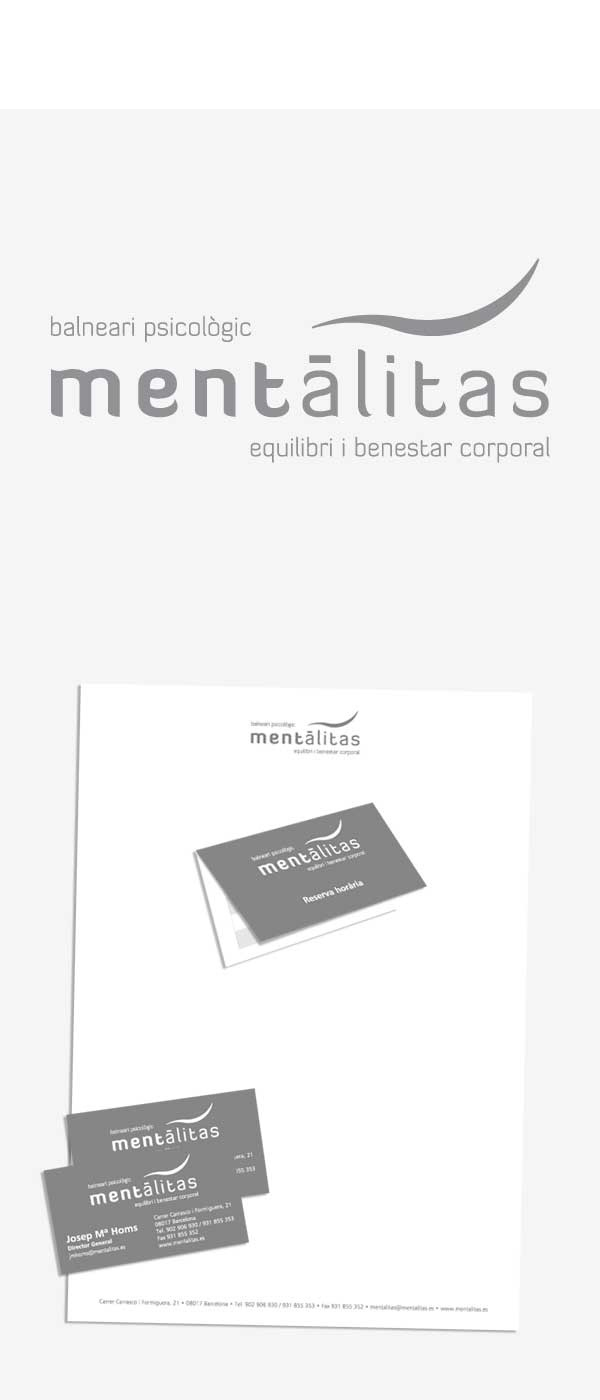 Diseño integral de la imagen corporativa Mentàlitas.