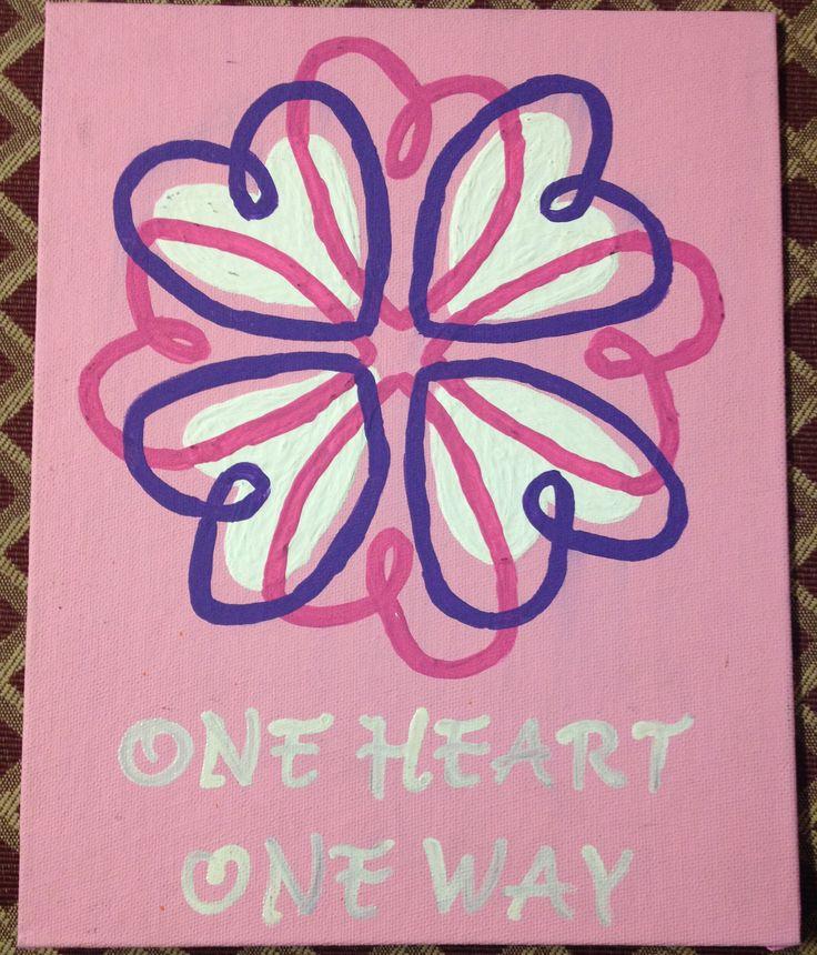 Day 3 Sigma Kappa Big Little presents one heart one way
