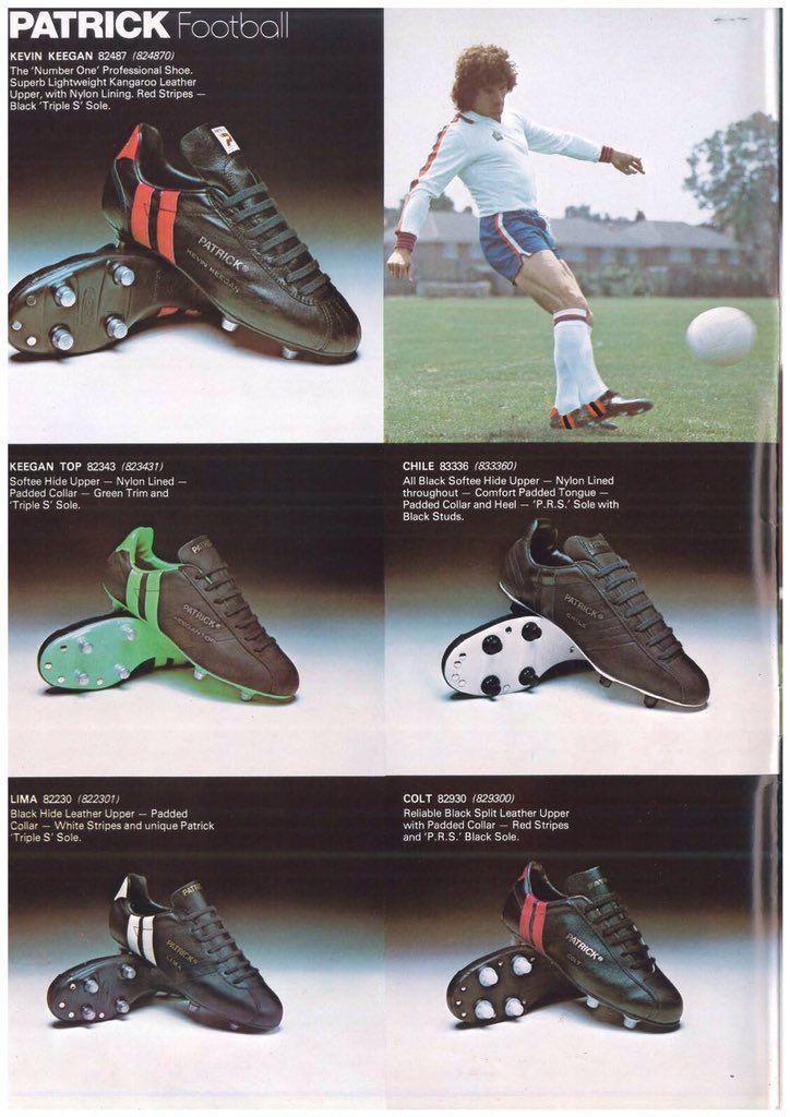 ee0ec2b1b 1979 Patrick catalogue Soccer Boots