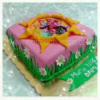 Winx pastası / Winx kızları