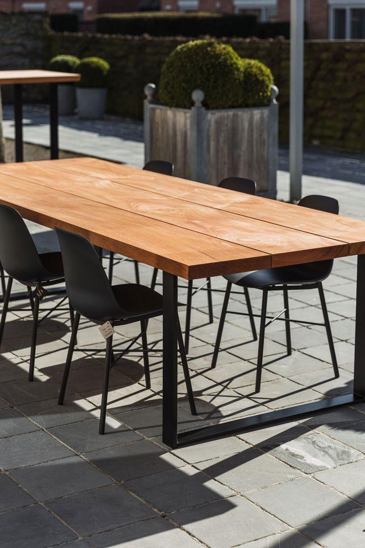 Sanskriet Spring Table, houten tuintafel, ideaal voor jouw terras of tuin   Meubelen   Sanskriet
