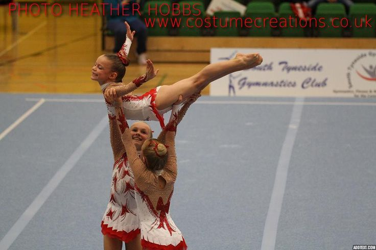 Spelthorne Gymnastics - Leotards by Monica Newell  Costume Creations  UK