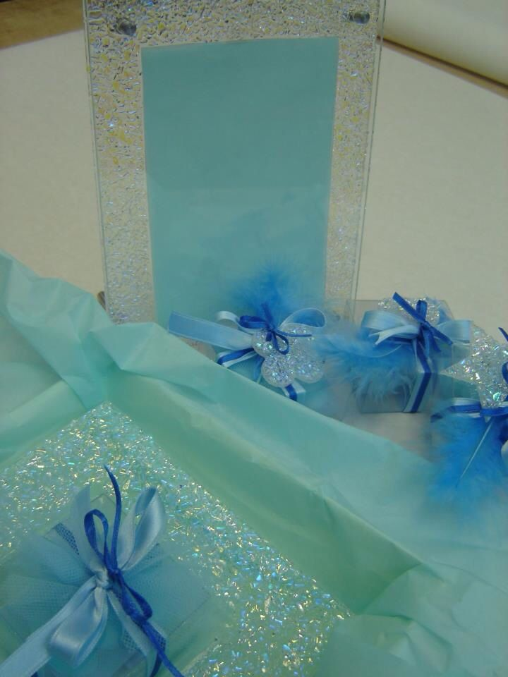 Battesimo: bomboniere e regali madrina e padrino... tutto in azzurro