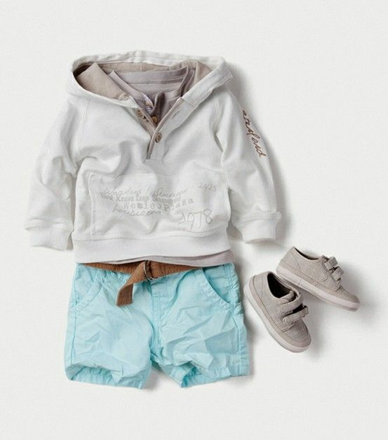 Toddler boy outfit by zara (like this but the shorts are a little short