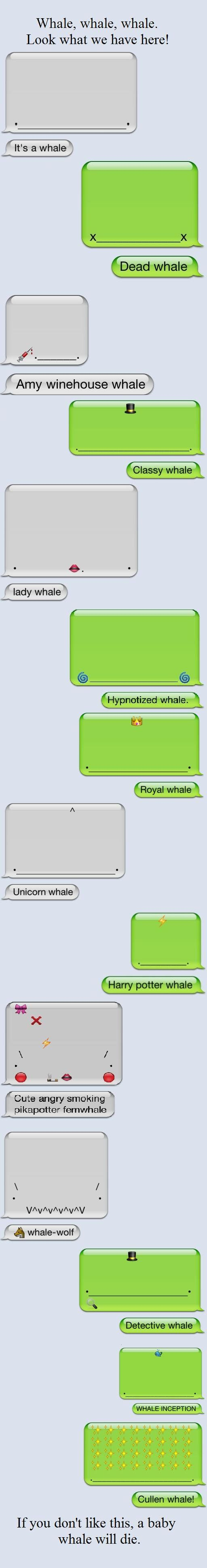 iphone whales for the win!