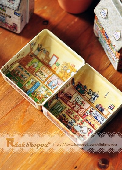 #Vintage or #Victorian storage box. Super classy~