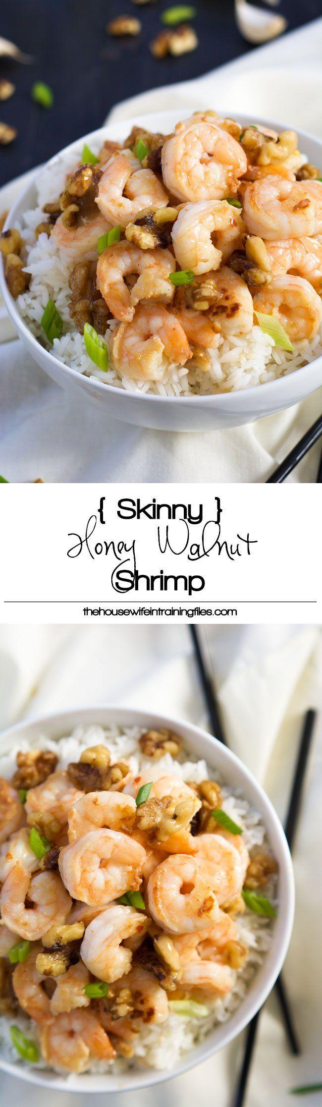Best Skinny Honey Walnut Shrimp Recipe | Healthy, Easy, Paleo, Copycat, Sauce, Gluten Free, How to Make, Light