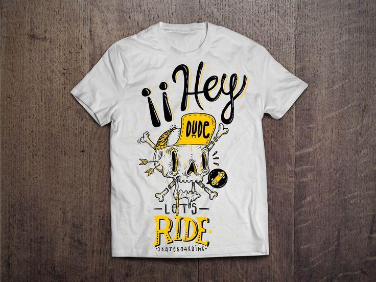 MockUp T-shirt Guacala /// Let´s Ride