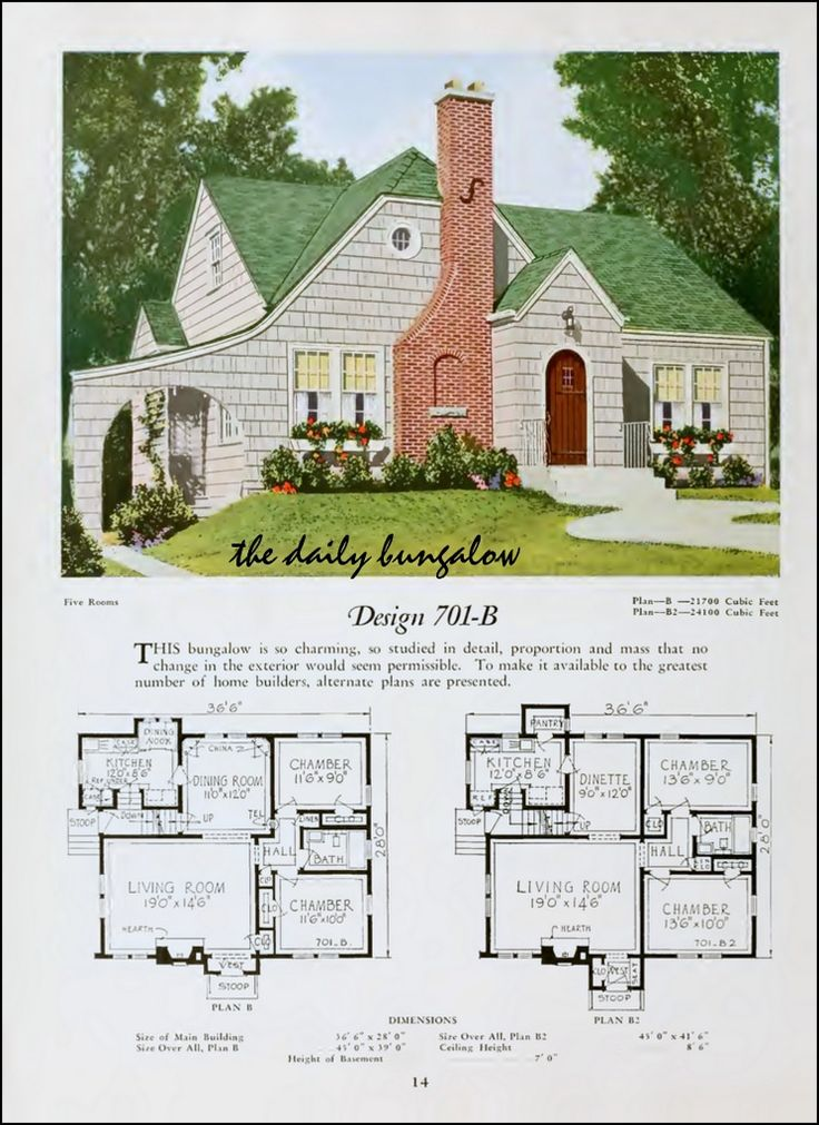 1920::National Plan Service in 2020 | Vintage house plans ...