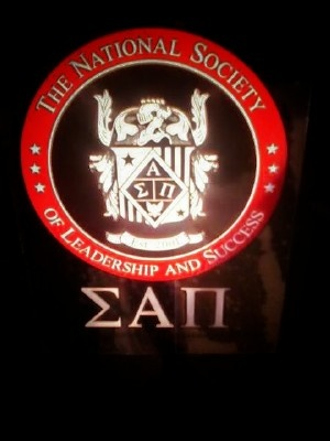 Sigma Alpha Pi - The National Society of Leadership and Success Soon to be member! :)