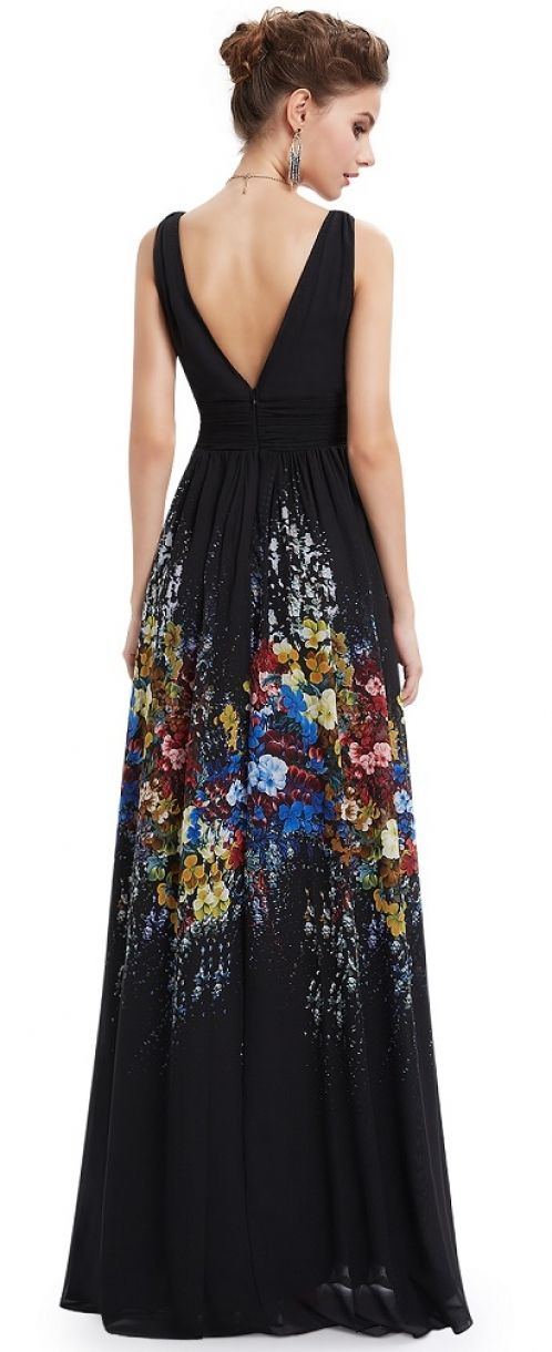 Ever-Pretty plesové šaty Opium, černé