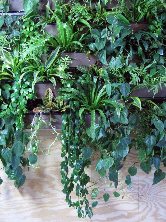 How To Turn A Brooklyn Loft Into An Urban Oasis. Indoor Vertical GardensIndoor  ...