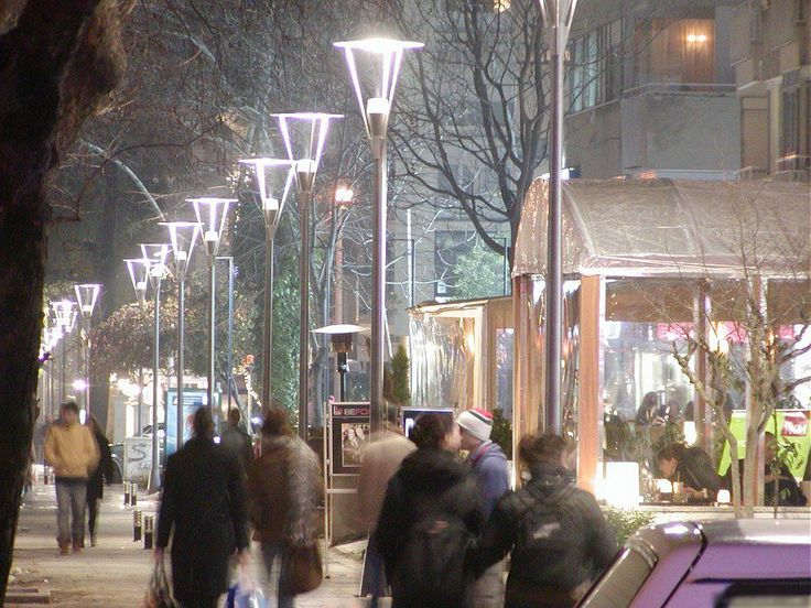 Bağdat Caddesi  The second popular street of my city (on the Asian side)