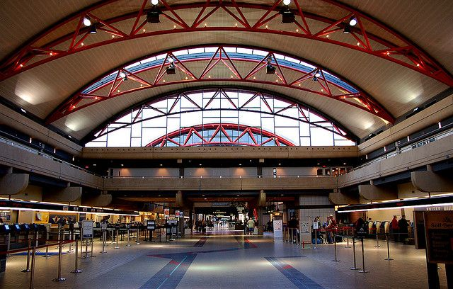 Pittsburgh International Airport. Phonetica - the world's best PA system for airports.