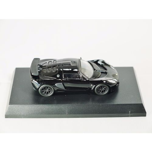 1/64 Kyosho British Car Miniature Car Collection Lotus Exige Black Die-cast