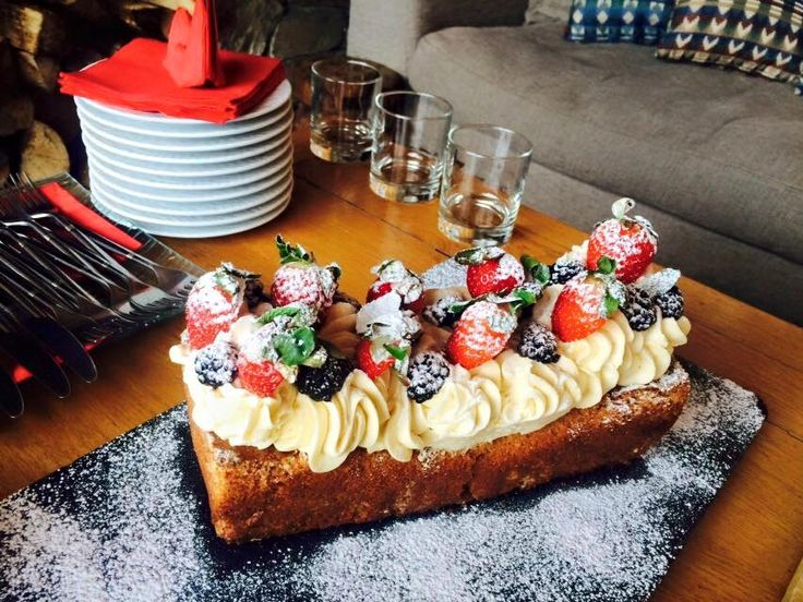 Afternoon Tea is served in Chalet Le Chardon! http://www.skiinluxury.com/france/val-disere/chalet-le-chardon
