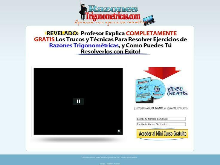 ① Razones Trigonometricas. - http://www.vnulab.be/lab-review/%e2%91%a0-razones-trigonometricas-2