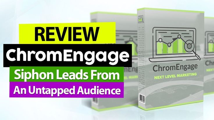 ChromEngage Review And Bonus - Siphon Leads From An Untapped Audience of 1385 Million https://youtube.com/watch?v=Xs67zaTwH1Y