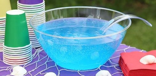 Blue Hawaiian Punch cocktail recipe