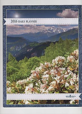 ... daily planner desk calendar from boys town the 2016 12 month daily