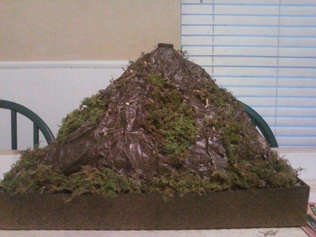 Easiest School Volcano Project Ever!