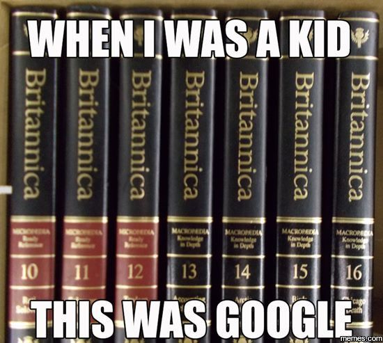 I also remember that every time I didn't know what a word meant, dad made me go get the dictionary.