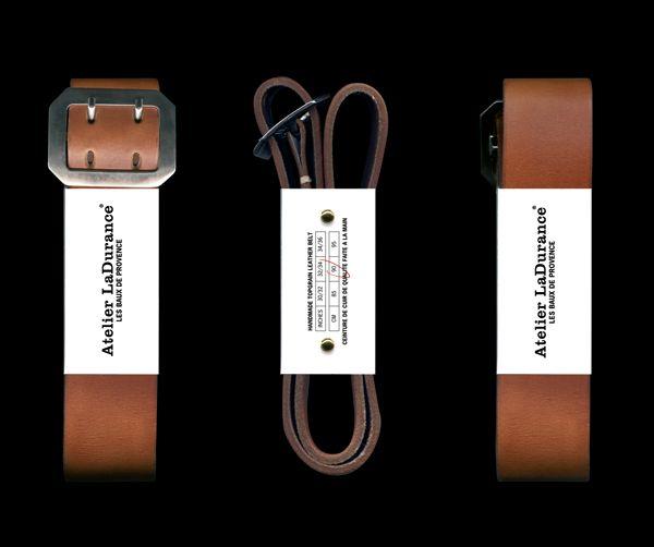 boy bastiaens | atelier ladurance | leather belt packaging