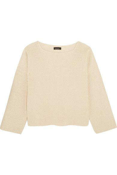 Isabel Marant   Fly ribbed cotton-blend sweater   NET-A-PORTER.COM
