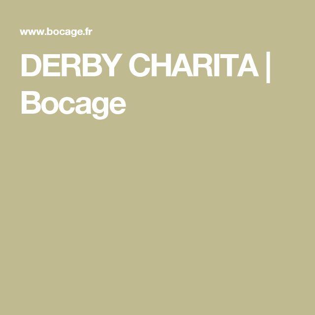 DERBY CHARITA   Bocage