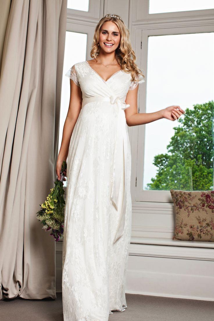 Dlouhé těhotenské svatební šaty Eden bei Tiffany Rose