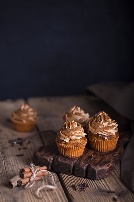 Kürbis-Zimt-Cupcakes | Sweet Dreams Blog